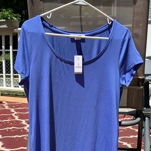 White House-Black Market Periwinkle T-Shirt